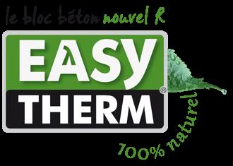EasyTherm, le bloc béton nouvel R