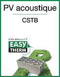 EASYTHERM - PV acoustique CSTB