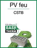EASYTHERM - Résistance au feu CSTB