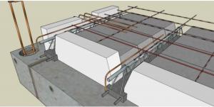 Rupteurs Thermiques Longitudinaux et Transversaux avec plancher poutrelles et entrevous béton