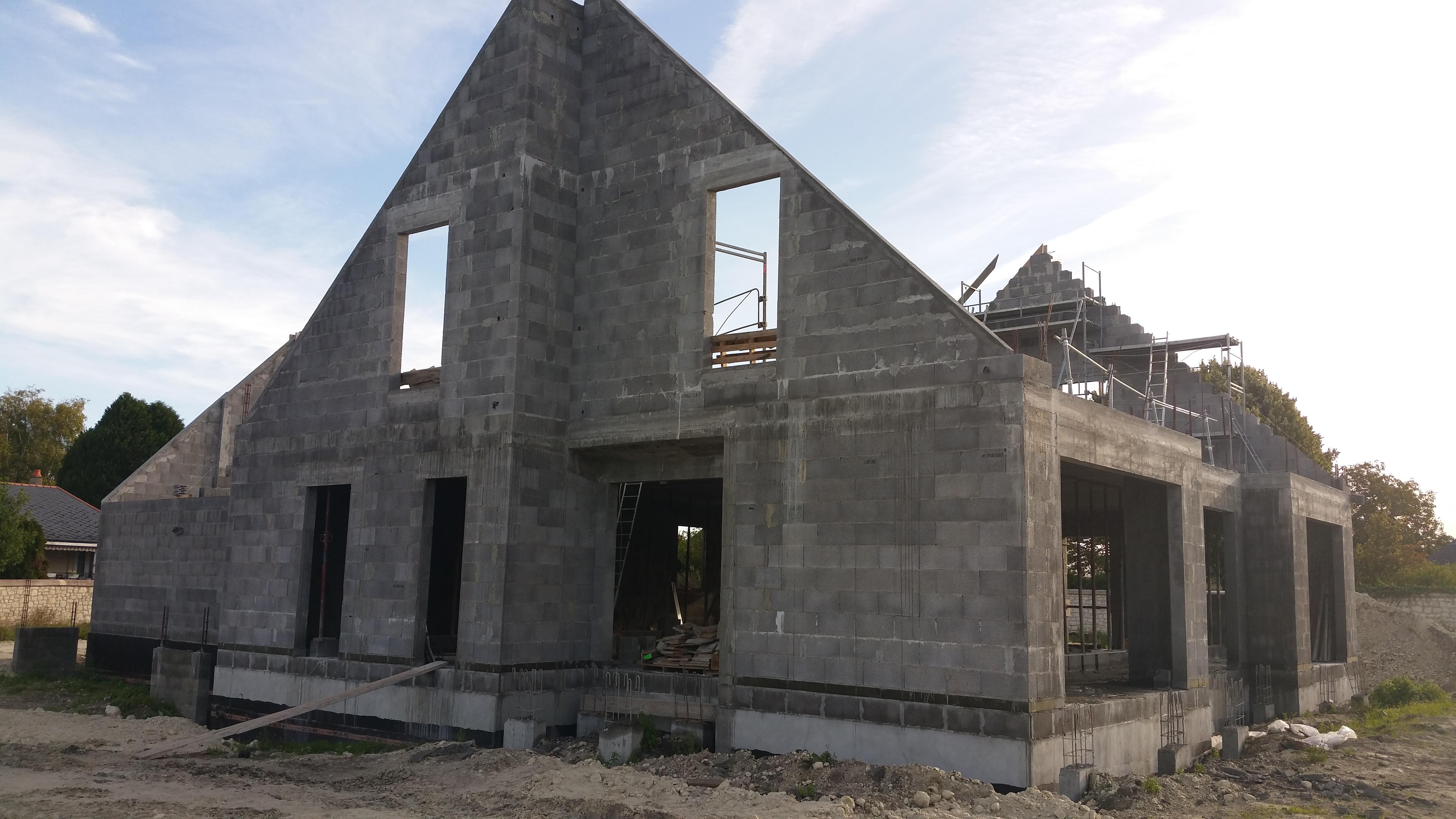 Maison passive en bloc b ton - Maison bloc modulaire ...